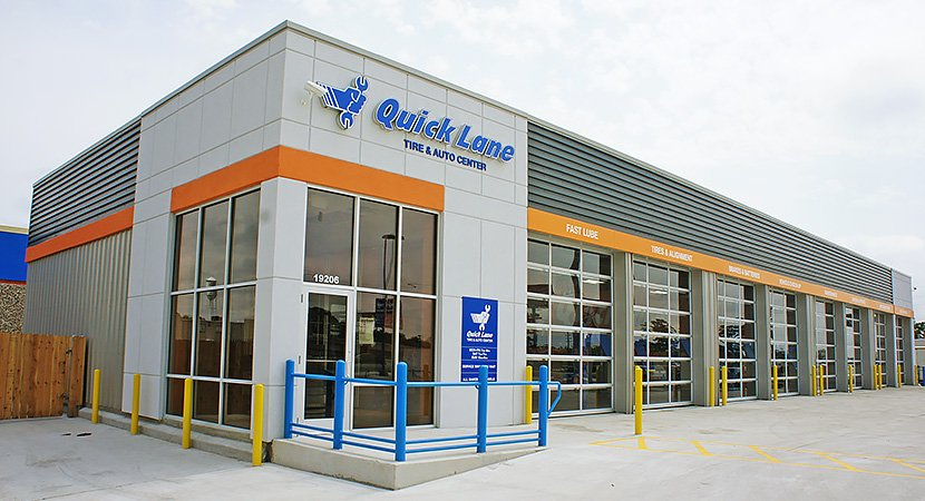 Quick Tire & Auto Center Metal Building by SBS