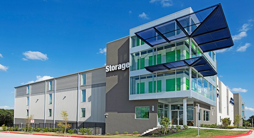 Self Storage Metal Building by SBS
