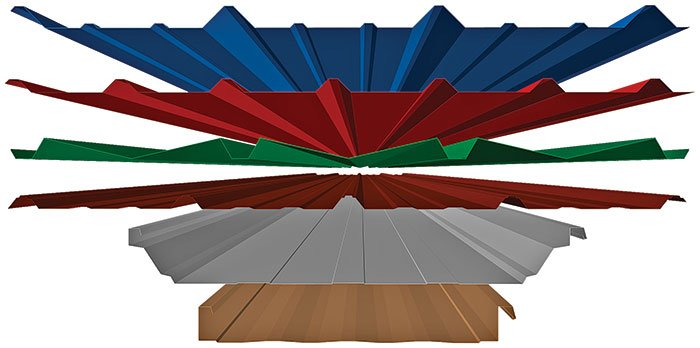 meatl roof and wall panels