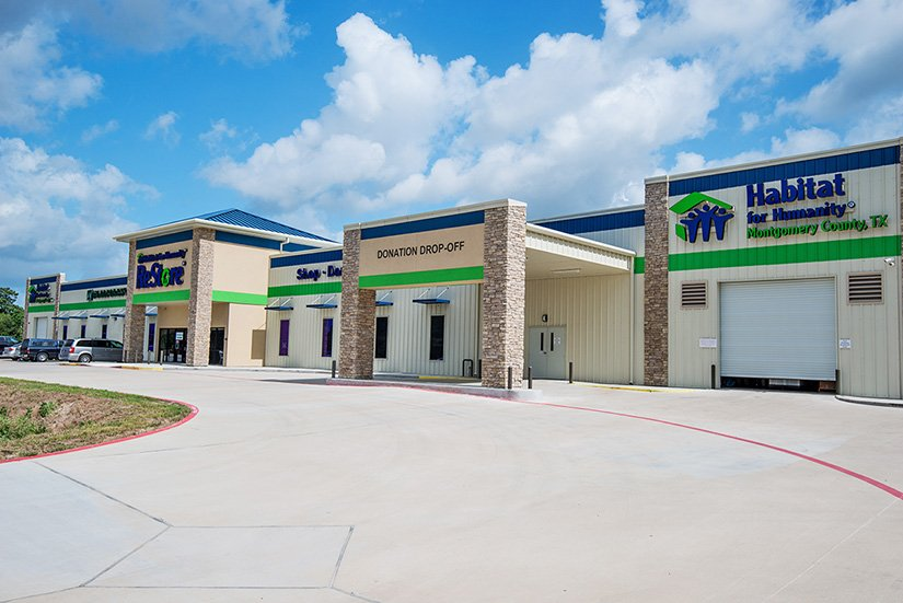 The Habitat for Humanity of Montgomery County, TX ReStore Resale Shop