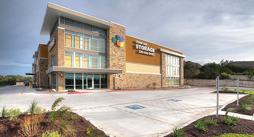 Stone Oak Self Storage Building by SBS