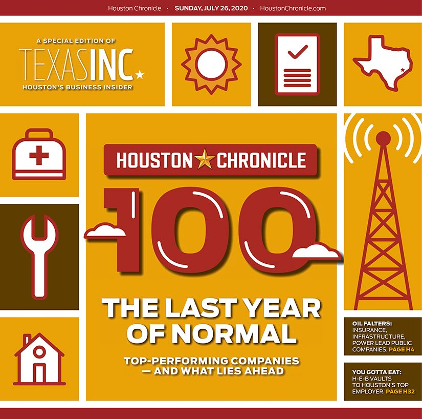 Houston Chronicle 100 - 2020