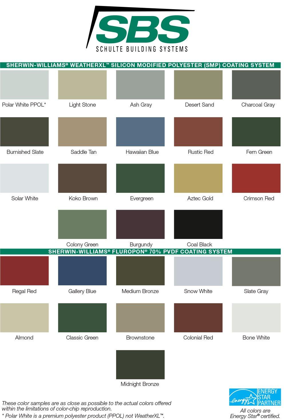 SBS Color Guide 2020