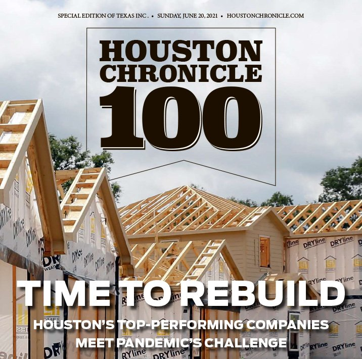 Houston Chronicle 100 2021